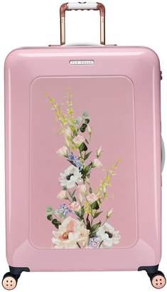 Ted Baker Take Flight Large 4 Wheel Suitcase Elegant Pink