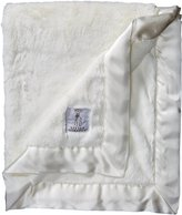 "Little Giraffe Luxe Blanket, 29"" x 35"", White"