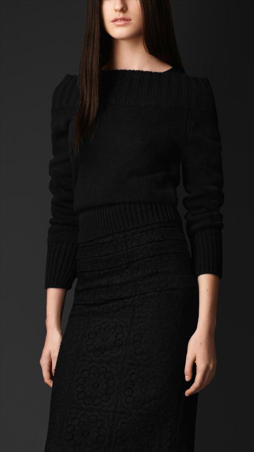 Burberry Silk Cashmere Sweater