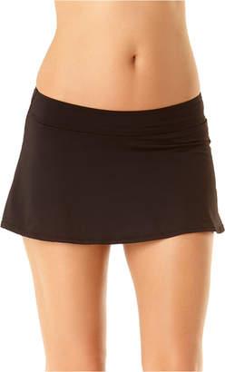 Anne Cole Solid Swim Skirt Women Swimsuit