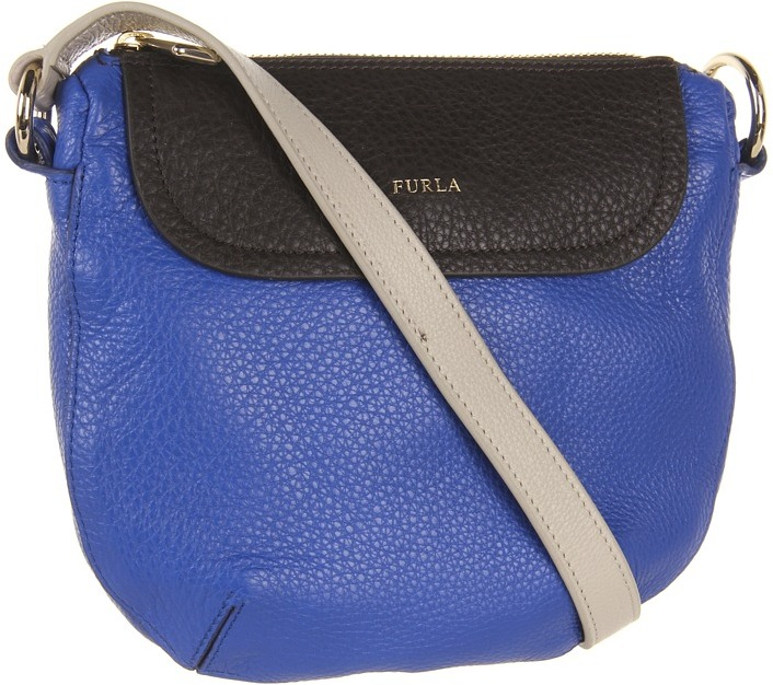 Furla Wave XS Tracolla Bandoliera (Ocean/Ebano) - Bags and Luggage