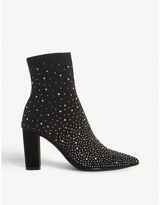Dune Opaal embellished ankle boots
