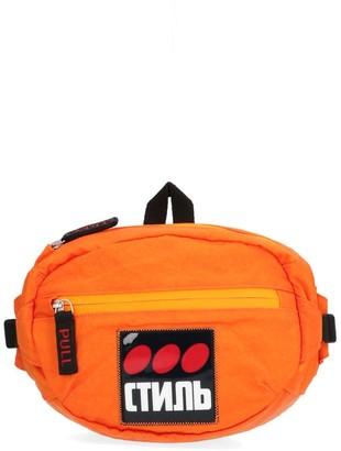 Heron Preston CTNMB Logo Patch Belt Bag