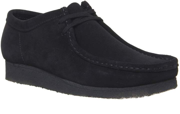 9962a95753 Wallabees Black Leather - ShopStyle UK