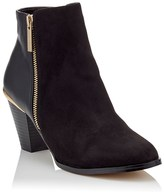 Lipsy Zip Detail Ankle Boots