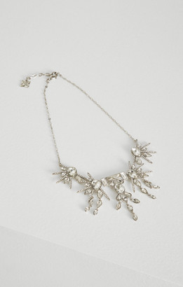 BCBGMAXAZRIA Crystal Bib Necklace