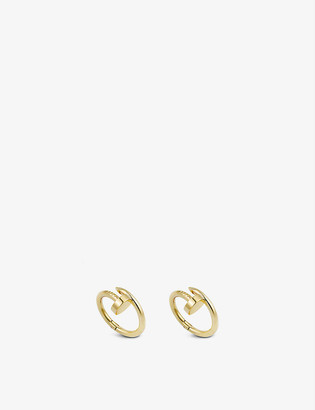 Cartier Juste un Clou 18ct yellow-gold cufflinks
