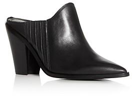 Sigerson Morrison Women's Kaden Pointed-Toe High Heel Mules