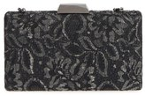 Sondra Roberts Chantilly Lace Box Clutch - Black
