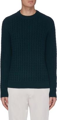 Theory 'Nardo Crimden' cable knit sweater