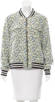 Equipment Silk Printed Bomber Jacket