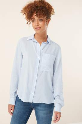 Next Womens Blue/White Shirt - Blue