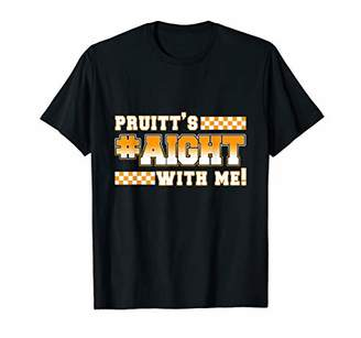 with me. Pruitt's Aight With Me! Big Orange Supporter Sweatshirt T-Shirt