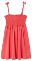 Petit Bateau Girls spaghetti strap dress