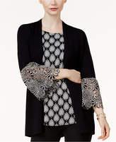 Alfani Lace-Cuff Cardigan, Created for Macy's