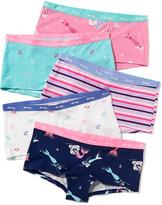 Old Navy Patterned Boyshort Underwear 5-Pack for Girls