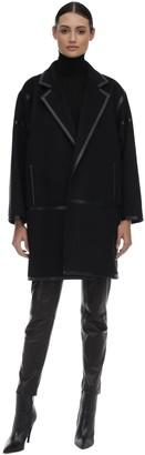 Max Mara Virgin Wool Blend Coat