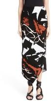 Proenza Schouler Women's Spiral Knit Jacquard Skirt