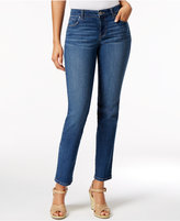 Style&Co. Style & Co Petite Riverside Wash Slim-Leg Jeans, Only at Macy's