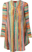 Missoni Mare Lame Striped Caftan