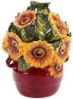 Certified International Sunflower Meadow Cookie Jar