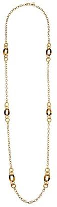 Lauren Ralph Lauren 42 Inlay Strandage Necklace (Tortoise) Necklace