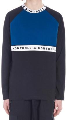 Kappa Kontroll Colour Block Long-Sleeve Shirt