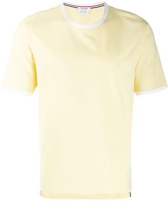 Thom Browne side slit T-shirt