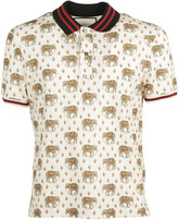 Gucci Jersey Stretch Polo Shirt