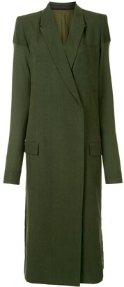 Haider Ackermann Oversized Mid-Length Coat