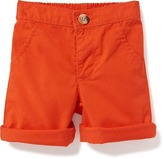 Old Navy Roll-Cuff Twill Shorts for Baby