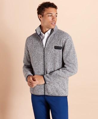 Brooks Brothers Zip-Up Fleece Sweater Jacket
