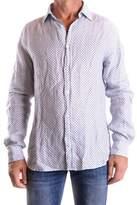 Altea Men's White Linen Shirt.