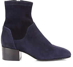 Aquatalia Women's Lyla Stretch-Suede Ankle Boots