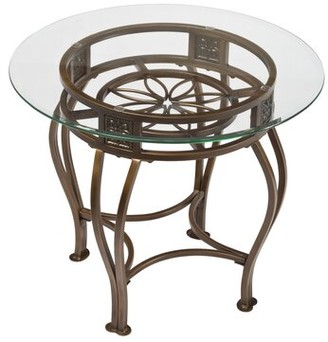 Fleur De Lis Living Clarkedale Contemporary End Table