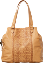 Volcom Dezert Mist Tote Bag Brown