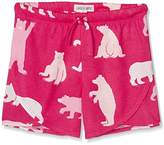 Hatley Little Blue House by Girl's Tween Fuchsia Bears Short Pyjama Bottoms