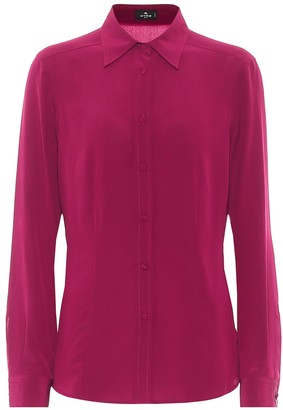 Etro Silk crepe de chine shirt