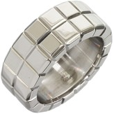 Chopard Ice Cube 18K White Gold Band Ring