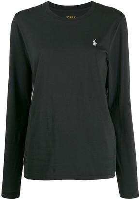 Polo Ralph Lauren embroidered logo longsleeved T-shirt