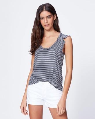 Paige Jemima Tank-Navy/White Stripe