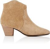 Etoile Isabel Marant Women's Dicker Suede Ankle Boots-BEIGE, TAN