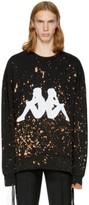 Faith Connexion Black Kappa Edition Bleached Sweatshirt