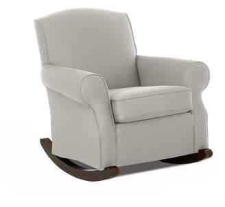 Wayfair Custom Upholstery Marlowe Rocking Chair Body Fabric: Sunbrella Canvas Canvas