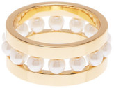Rebecca Minkoff Beaded Ring - Size 7