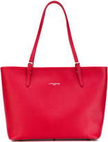 Lancaster logo stamp tote - women - Calf Leather - One Size