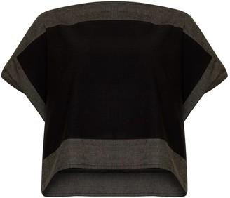Bo Carter Luna Top Black & Grey