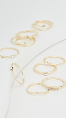 Jules Smith Designs Layered Stacking Ring Set