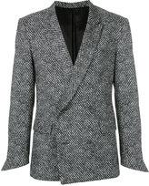 Ex Infinitas - double-breasted blazer