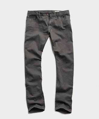 Todd Snyder Slim Fit 5-Pocket Chino In Dark Granite